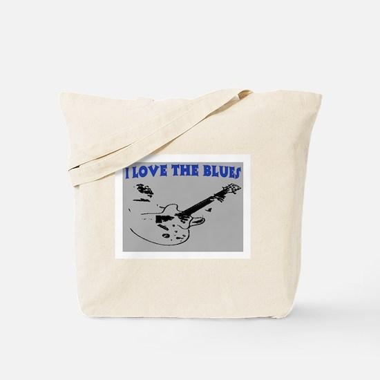 I LOVE THE BLUES Tote Bag