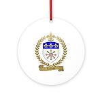 LAFLEUR Family Crest Ornament (Round)