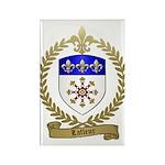 LAFLEUR Family Crest Rectangle Magnet