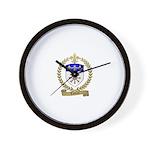LAFLEUR Family Crest Wall Clock