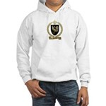 POULIN Family Crest Hooded Sweatshirt