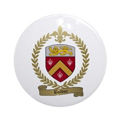 BOLDUC Family Crest Ornament (Round)