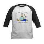 It wouldn't be research! Kids Baseball Jersey
