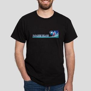paradiseislandwavblk T-Shirt