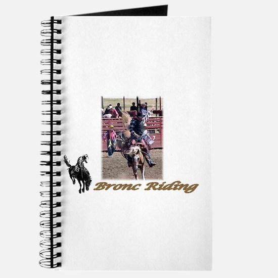 Bronc Riding 2 Journal