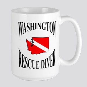 Washington Rescue Diver Mugs