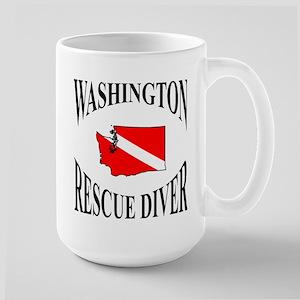 Washington Rescue Diver Mugs