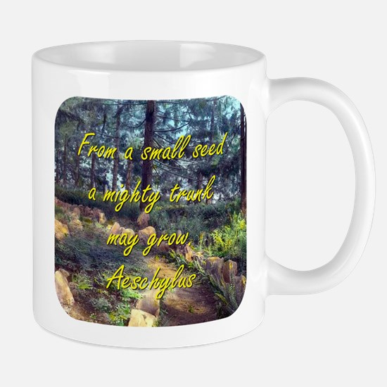 From A Small Seed - Aeschylus Mug