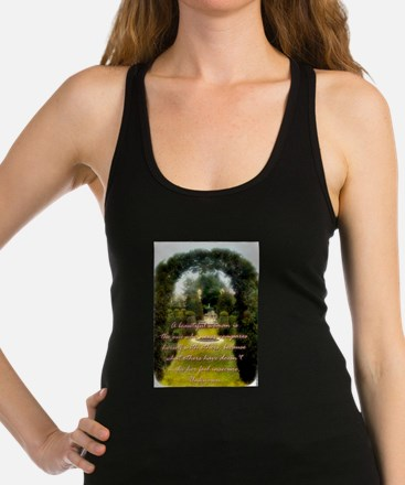 A Beautiful Woman Is The One - Unknown Racerback T