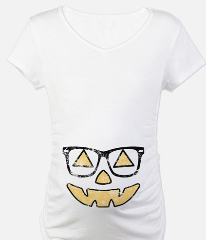 Vintage Jack-O-Lantern With Glasses Halloween Mate