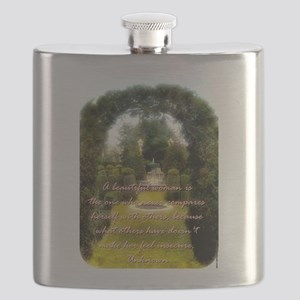 A Beautiful Woman Is The One - Unknown Flask