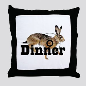 Small Game section Throw Pillow