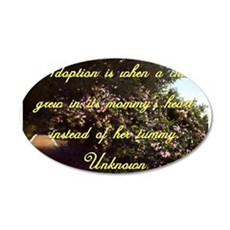Adoption Is When A Child - Unknown Wall Decal