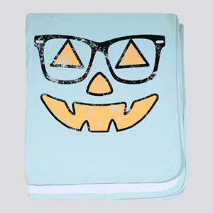 Vintage Jack-O-Lantern With Glasses Halloween baby