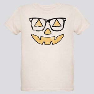 Vintage Jack-O-Lantern With Glasses Halloween T-Sh