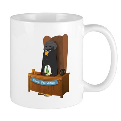 Stephen Fry Penguin - Charity Mug