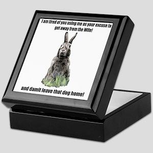 I am tierd of you Keepsake Box
