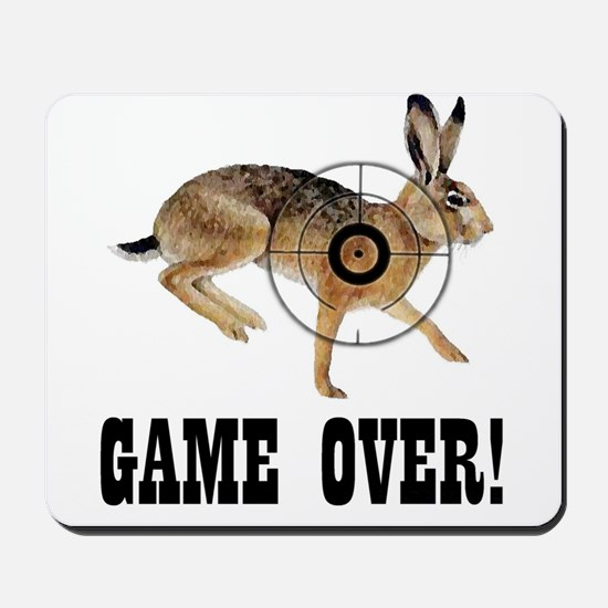 game over! Mousepad