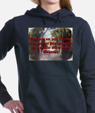 They May Not Have My Eyes - Unknown Women's Hooded