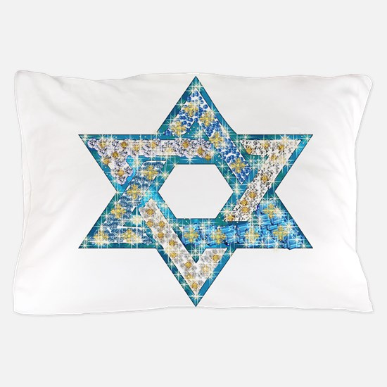Gems and Sparkles Hanukkah Pillow Case