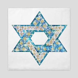Gems and Sparkles Hanukkah Queen Duvet