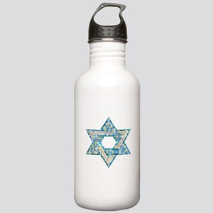 Gems and Sparkles Hanukkah Stainless Water Bottle