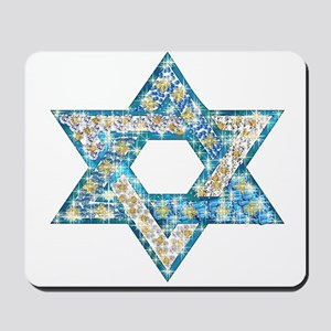 Gems and Sparkles Hanukkah Mousepad