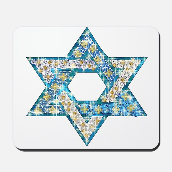 Gems and Sparkles Hanukkah Mousepad