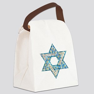 Gems and Sparkles Hanukkah Canvas Lunch Bag