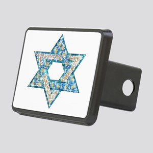 Gems and Sparkles Hanukkah Rectangular Hitch Cover