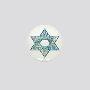 Gems and Sparkles Hanukkah Mini Button