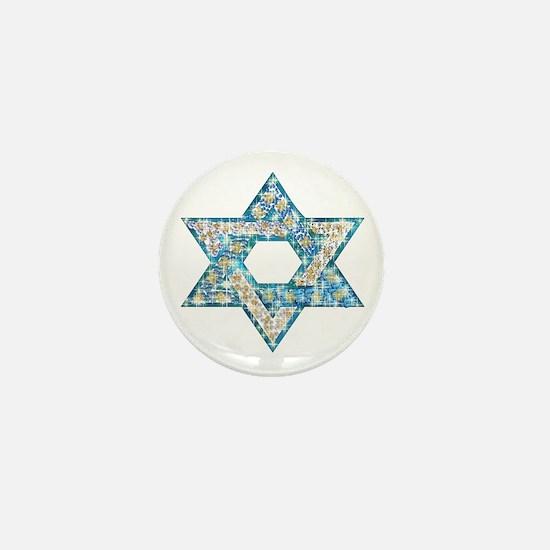 Gems and Sparkles Hanukkah Mini Button