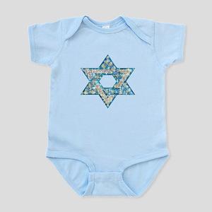 Gems and Sparkles Hanukkah Infant Bodysuit