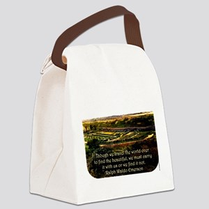 Though We Travel The World Over - Emerson Canvas L