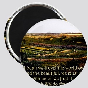 Though We Travel The World Over - Emerson Magnet