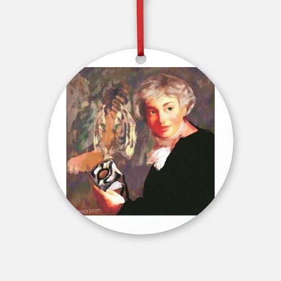 Tiger Eyes Ornament (Round)