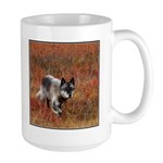 Alpha Male Wolf Large Mug
