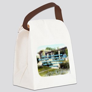 Life Is Not Measured - Unknown Canvas Lunch Bag