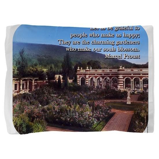 Let Us Be Grateful - Proust Pillow Sham