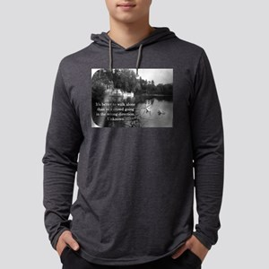 Its Better To Walk Alone - Unknown Mens Hooded Shi
