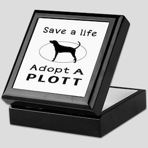 Adopt A Plott Dog Keepsake Box