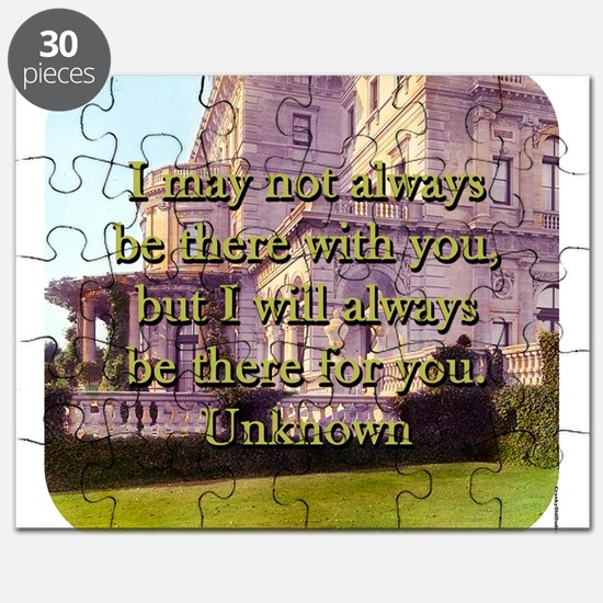 I May Not Always Be There - Unknown Puzzle