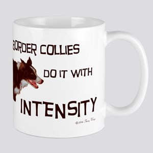 Border Collie Intensity Mug