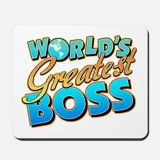 World's Greatest Boss Mousepad