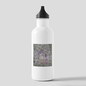 shadowy elves in flowers Water Bottle