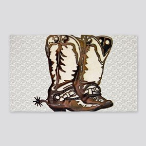 Boots n Spurs Area Rug
