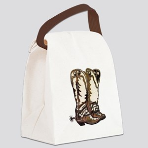 Boots n Spurs Canvas Lunch Bag