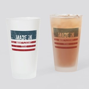 Made in Mount Pleasant, Texas Drinking Glass