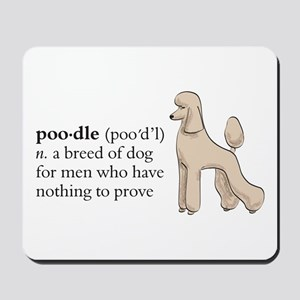 Nothing to prove Mousepad