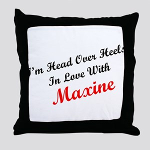 In Love with Maxine Throw Pillow